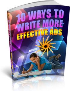 10 ways to write effective ads